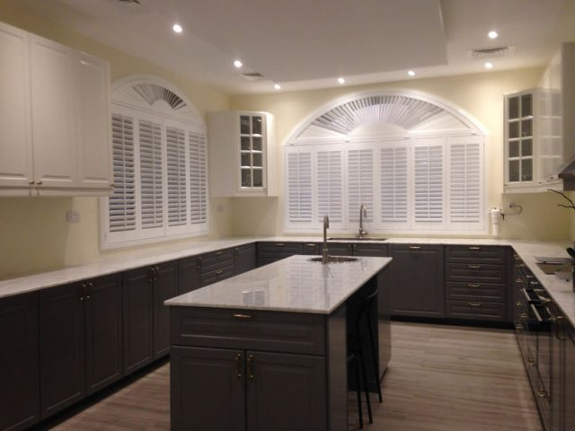 SHUTTERS FOR KITCHEN